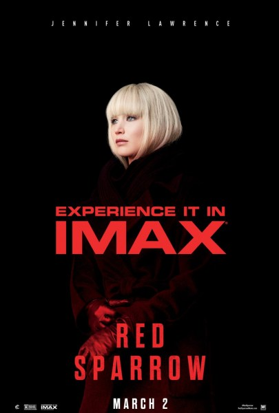 RED Sparrow IMAX Poster