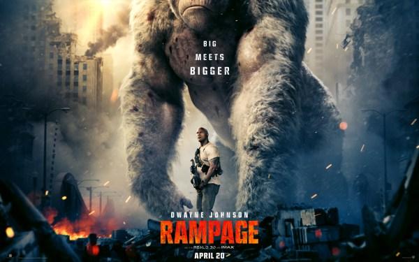 Rampage Movie 2018