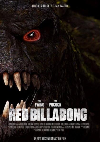 Red Billabong Earlier Poster