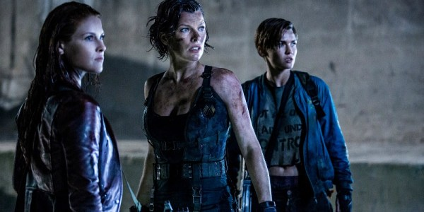 Resident Evil The Final Chapter - Ali Larter, Milla Jovovich, and Ruby Rose