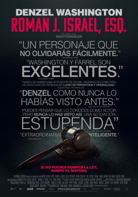 Roman J Israel Esq Black Poster