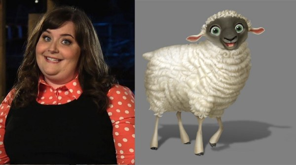 Ruth The Sheep Voiced By Aidy Bryant The Star
