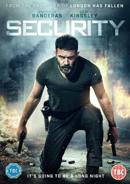 Security Movie BluRay Cover