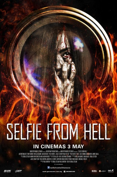 Selfie From Hell Malaysia Posterjpg