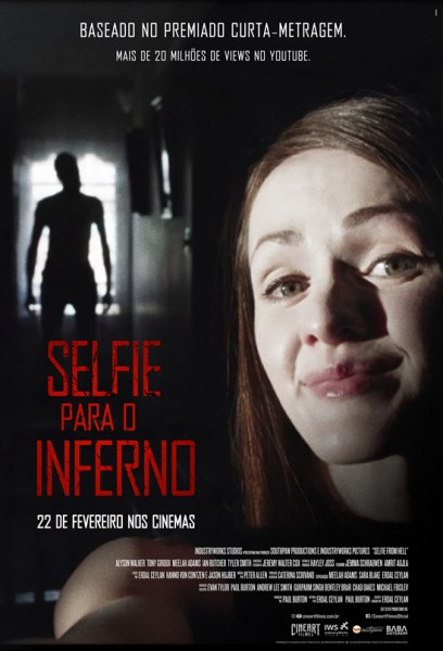 Selfie From Hell Brazilian Poster