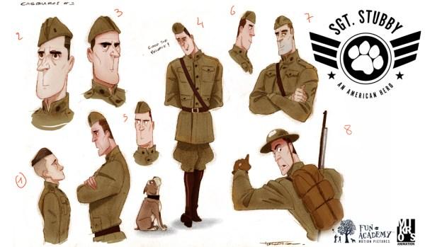 Sgt Stubby Movie Concept Art