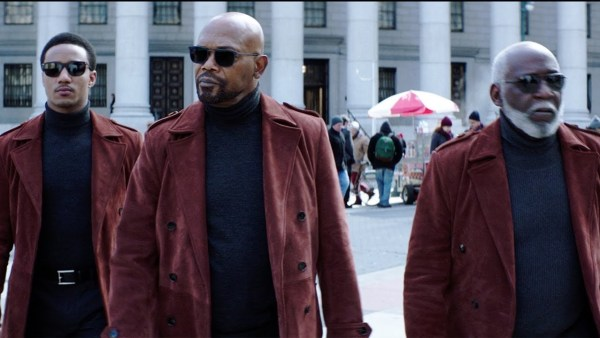 Shaft Jessie T Usher, Samuel L Jackson, And Richard Roundtree