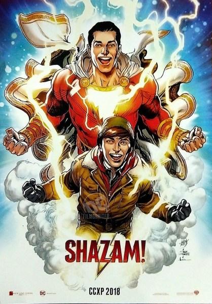 Shazam New Film Poster