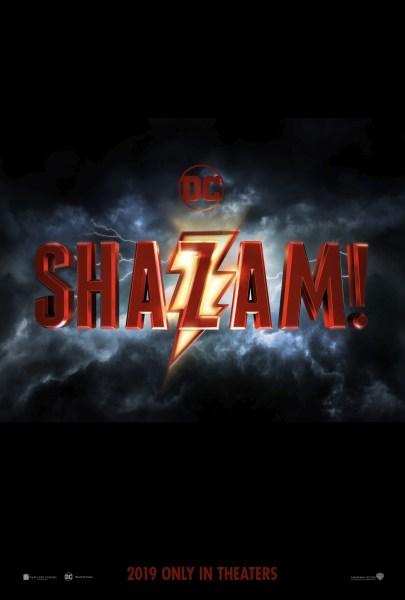 Shazam Teaser Poster