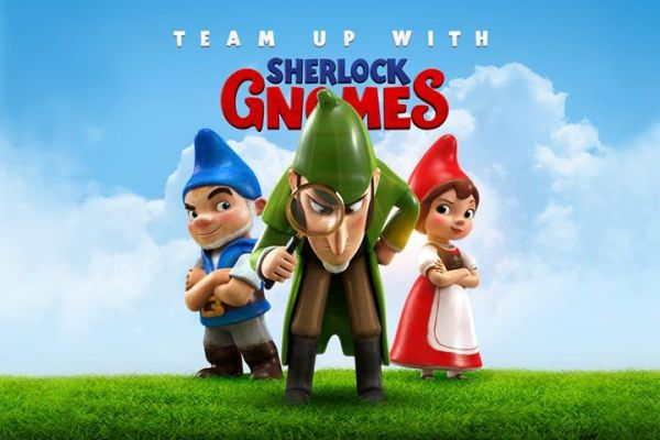 Sherlock Gnomes Film - Gnomeo And Juliet 2