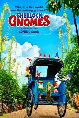 Sherlock Gnomes Indonesian Poster