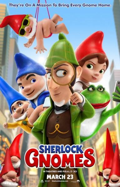 Sherlock Gnomes New Poster