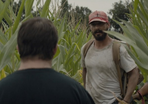 Shia Labeouf And Zack Gottsagen in The Peanut Butter Falcon Film