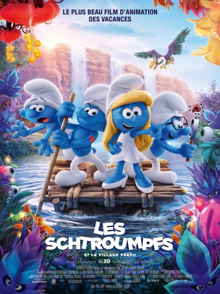 Smurfs The Lost Village French Poster