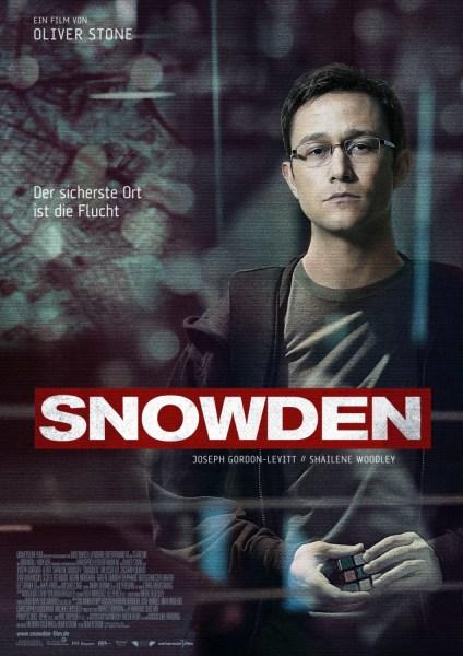 Snowden german Poster