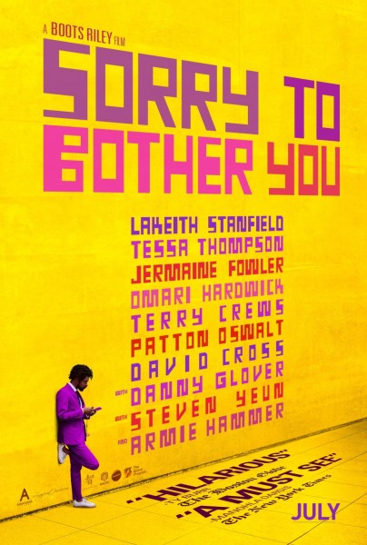 Sorry To Bother You New Poster