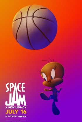 Space Jam 2 Character Poster - Tweety (voiced by Eric Bauza)