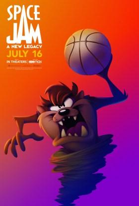 Space Jam 2 Character Poster - Taz aka The Tasmanian Devil