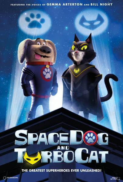 SpaceDog And TurboCat Movie Poster