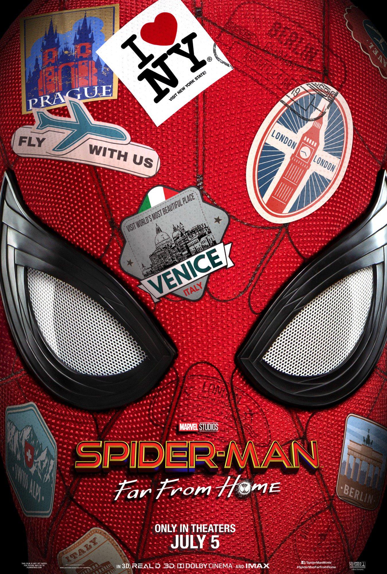 U Spiderman Spider-Man Far ...