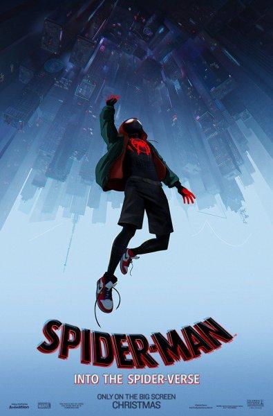 Spider Man In To The Spider Verse Movie Poster
