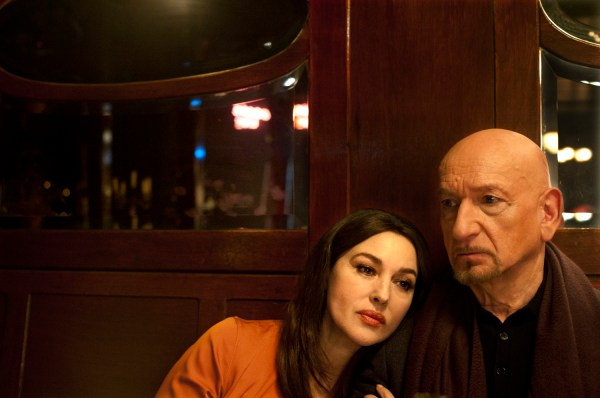 Spider In The Web Movie Monica Bellucci And Ben Kingsley