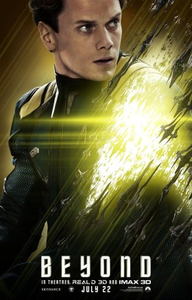 Star Trek Beyond - Anton Yelchin as Chekov