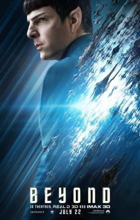 Star Trek Beyond - Zachary Quinto as Spock