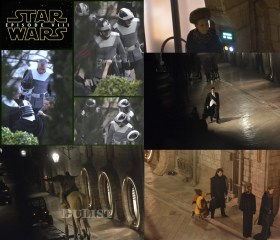 Star Wars 8 behind the Scenes with space horse