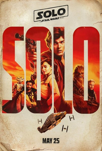 Star Wars Han Solo Movie Poster