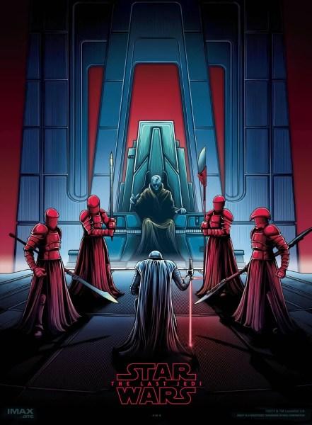 Star Wars The Last Jedi Artsy Poster