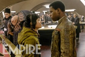 Star Wasr The Last Jedi Finn And Rose