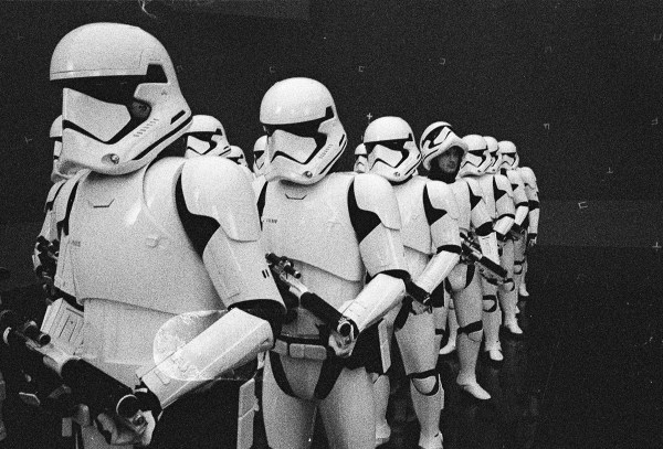 Strom troopers - Star Wars 8