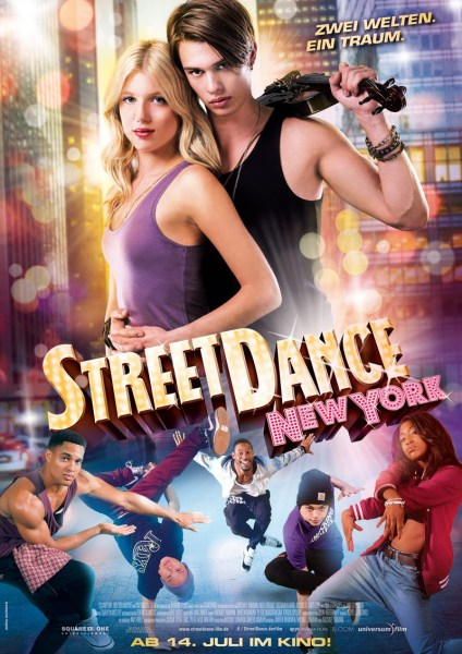 Street Dance New York High Strung German Poster