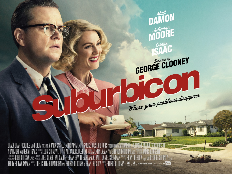 Resultado de imagem para movie poster Suburbicon