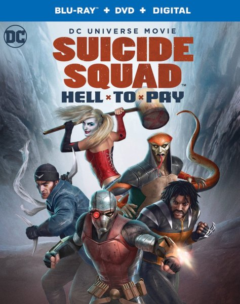 Suicide Squad Hell To Pay Poster