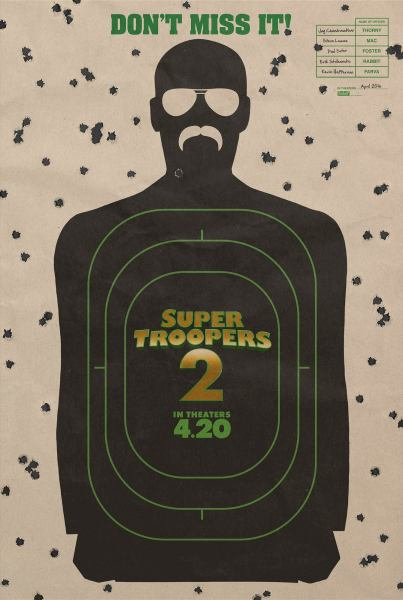 Super Troopers 2 New Film Poster