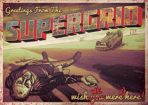 Supergrid Movie