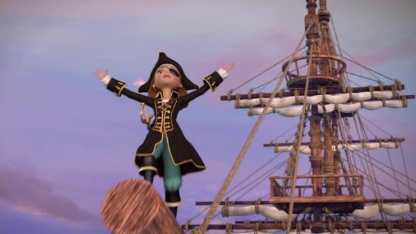 Swan Princess, The Princess Tomorrow, Pirate Today
