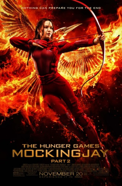 THE HUNGER GAMES 4 MOCKINGJAY PART 2 Jennifer Lawrence poster