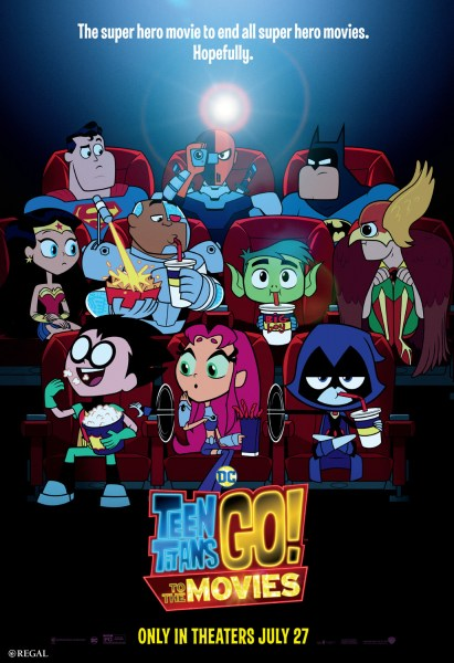 Teen Titans Movie New Film Poster