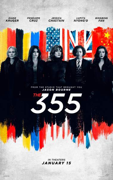 The 355 Film Poster