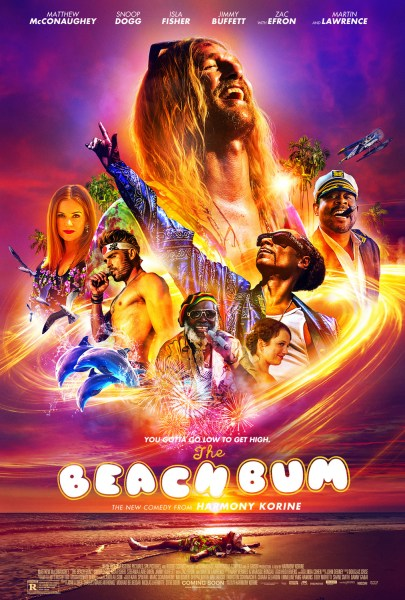 The Beach Bum New Film Poster