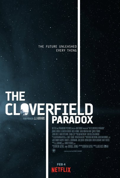 The Cloverfield Paradox Movie Poster - Cloverfield 3