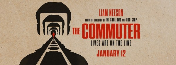 The Commuter movie in January 2018