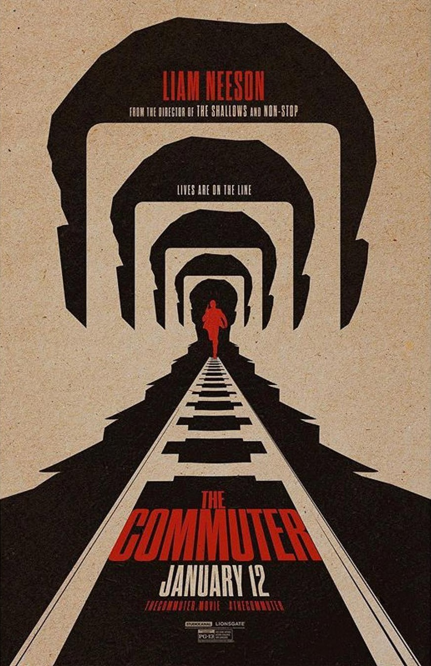 Image result for commuter movie poster