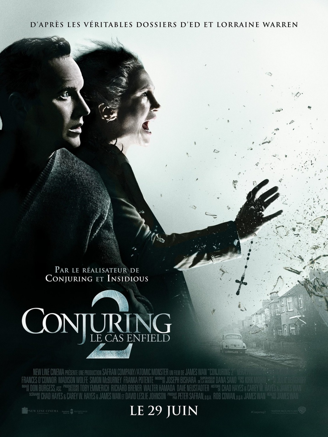 The Conjuring 2 Movie French Poster And Audio Recordings Teaser