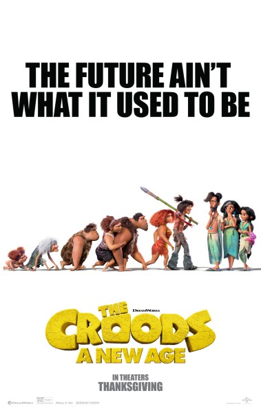 The Croods 2 A New Age Movie Poster
