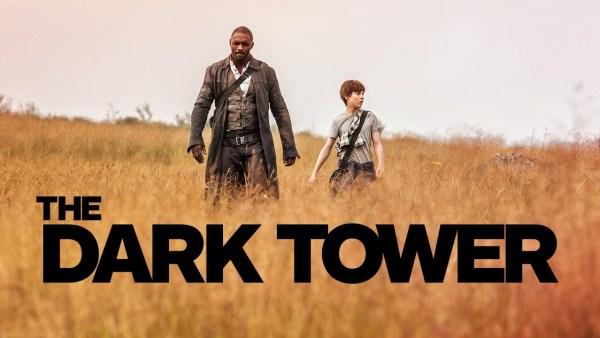 The Dark Tower Movie 2017 - Idris Elba And Tom Taylor