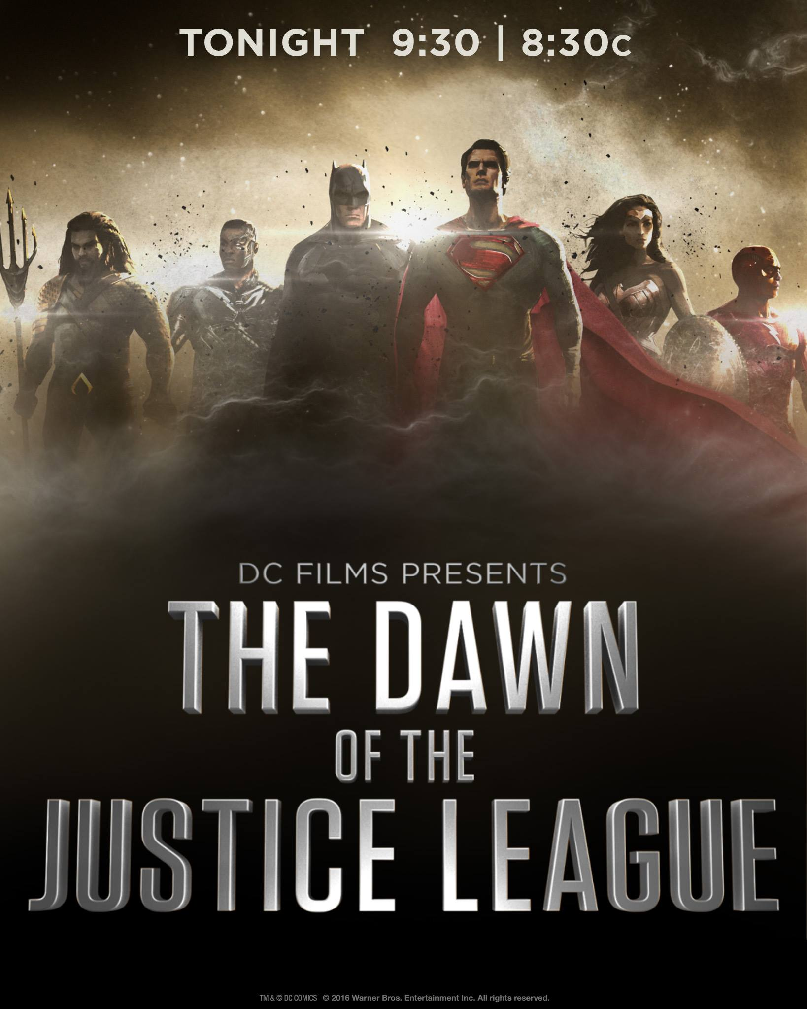 The Justice League Part Movie Teaser Trailer - First teaser trailer dawn of justice